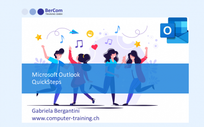 Lernvideo Outlook QuickSteps