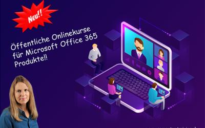 Microsoft 365 Onlinekurse Termine